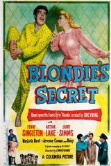 Blondie's Secret 1948 DVD - Penny Singleton / Arthur Lake